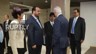 Switzerland  De Mistura and HNC continue talks in Geneva