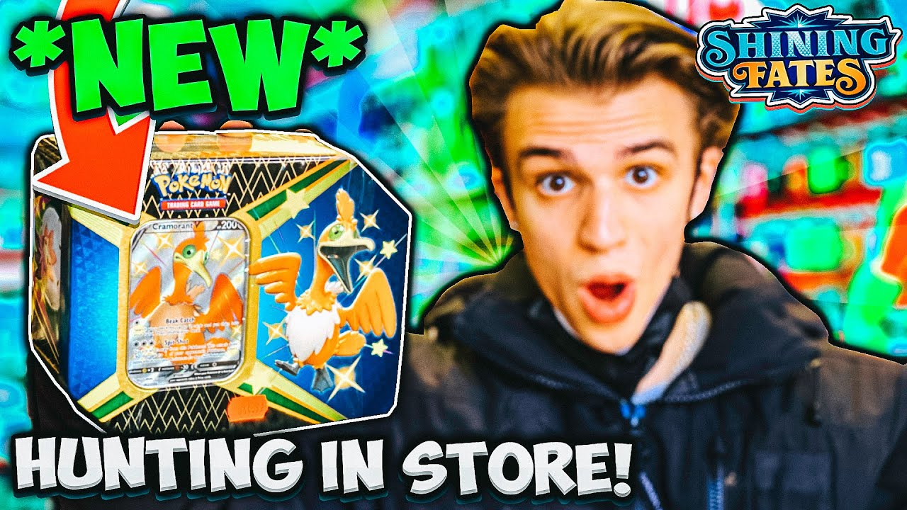 I FOUND POKEMON SHINING FATES IN STORES! *DOUBLE PULL* - SO EXPENSIVE! 🥵 - Shopping Vlog