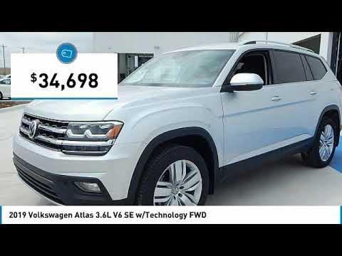2019 Volkswagen Atlas Edmond Ok, Oklahoma City OK, Norman OK KC556957