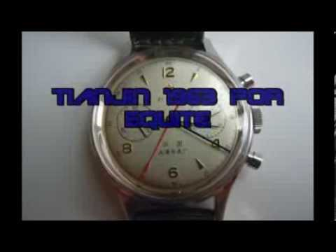 Tianjin 1963 Chronograph Air Force Military (Sonido real del reloj)