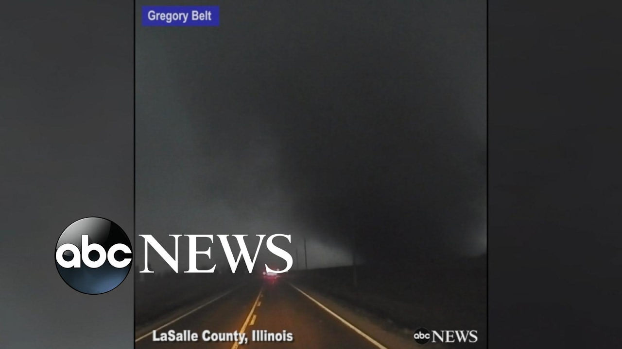 Storm Chaser Gets Dangerously Close To Massive Tornado