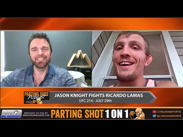 "UFC 214's Jason Knight ""I don't give a damn what belt Ricardo Lamas is on the ground"""