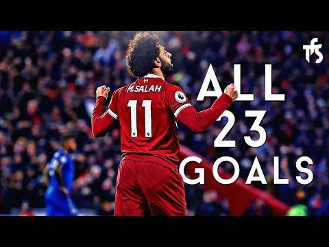 Mohamed Salah - All 23 Goals  In 2017 - English Commentary - HD