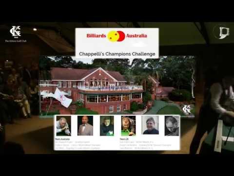 Chappelli's Champions Billiards & Snooker exhibition 2016