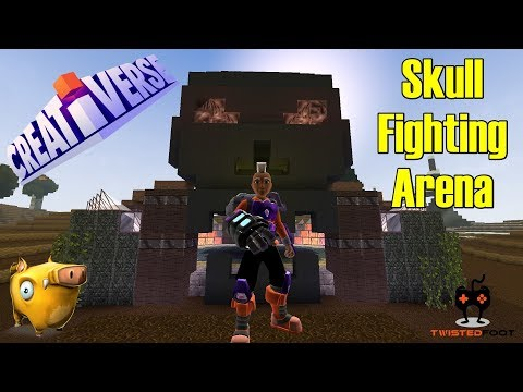 Skull Fighting Arena | Creativerse | PC Let's Play Gameplay | EP. 16