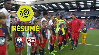 SM Caen - FC Metz (1-0)  - Résumé - (SMC - FCM) / 2017-18