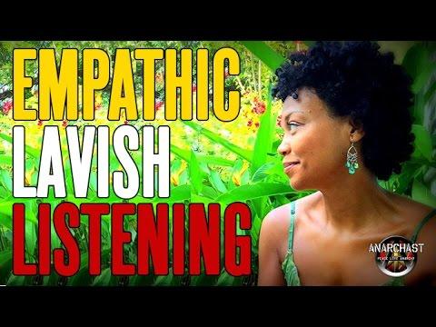 Anarchast With Erika Harris:  Lavish Listening