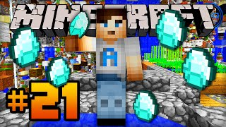 """DIAMONDS!"" - Minecraft SKY GRID - Episode #21 w/ Ali-A!"