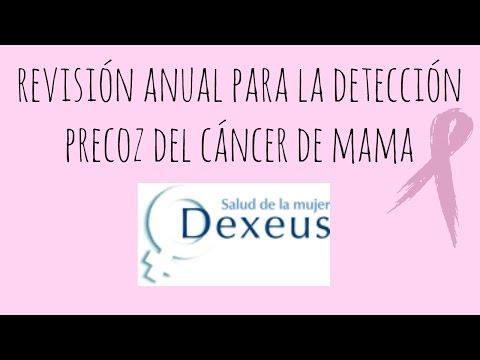 Revisión anual para la detección precoz del cáncer de mama