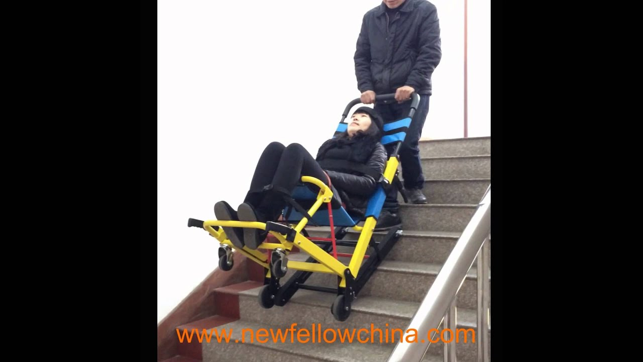 Foldable Emergency Evacuation Stair Chair Stretcher For