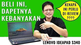 Laptop Murah, Super Lengkap: Review Lenovo Ideapad S340 - Indonesia