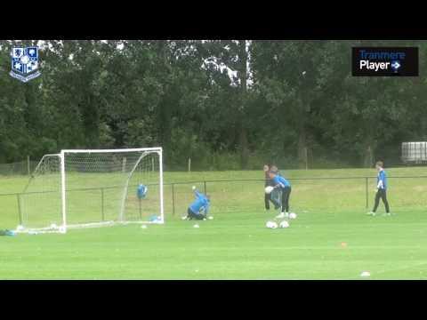 Ireland Training Camp: Goalkeepers Training