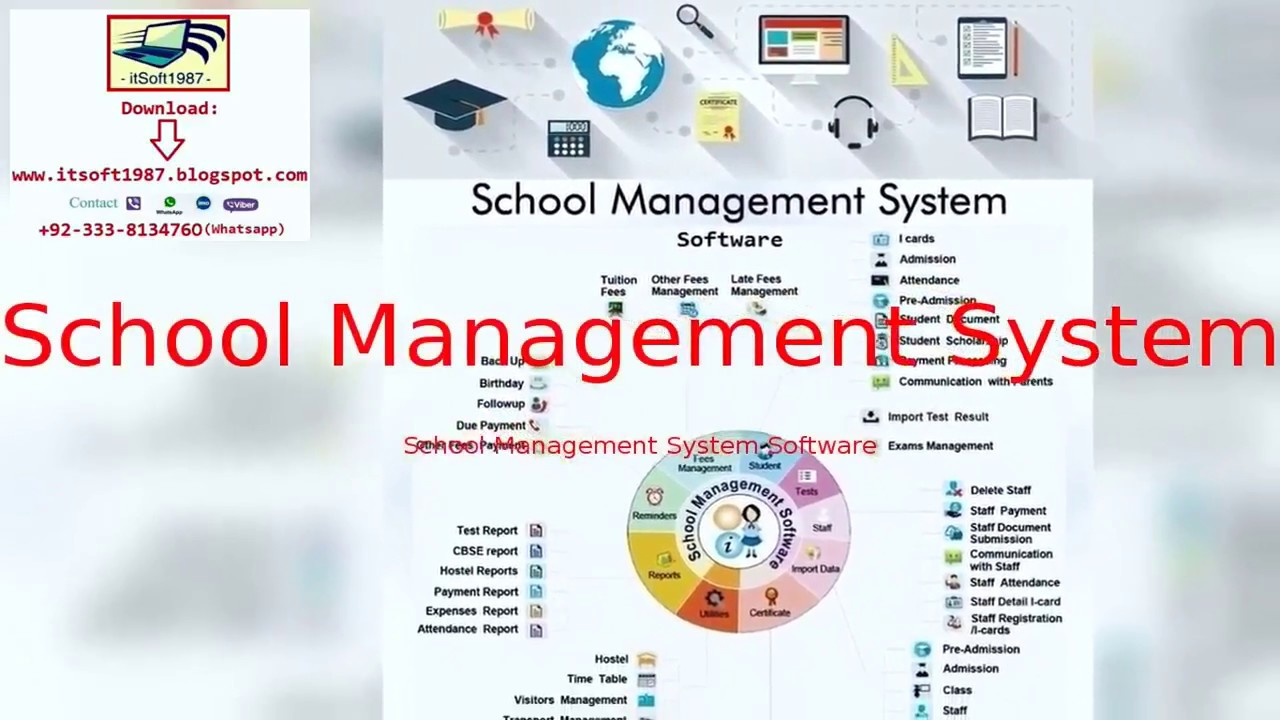School Management System Software Youtube