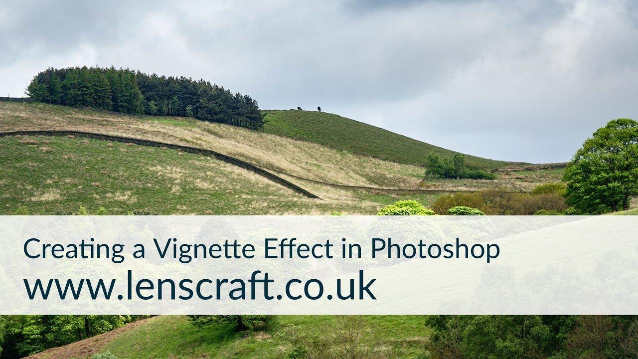 Creatie a Vignette effect in three imaging applications.  Vignette Effect Photoshop