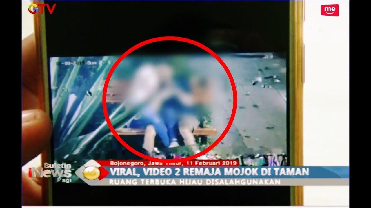 Video Pelajar Pakai Seragam Mojok Mesum di Alun-alun Kota Bojonegoro - BIP  12/02