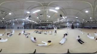 Панорамная видеосъёмка 360 градусов. Открытый урок по Тхэквондо. Тренер Кан Вадим Антонович