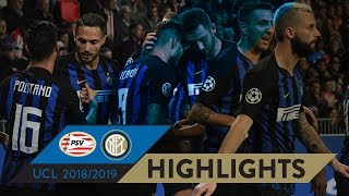 PSV-INTER 1-2 | HIGHLIGHTS | Matchday 02 - UEFA Champions League 2018/19