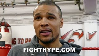 "CHRIS EUBANK JR. PREDICTS CANELO VS. JACOBS ""TOUGH"" FIGHT; EYES ""LEGACY"" SHOWDOWN WITH WINNER"