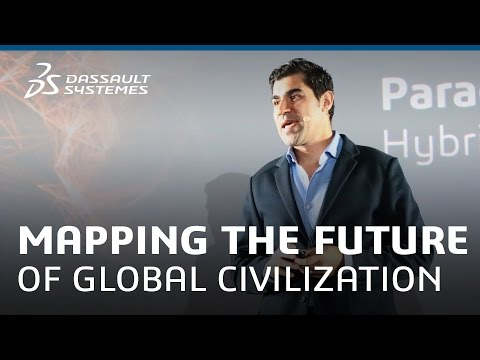 Design - Mapping The future of Global Civilization with Parag Khanna - Dassault Systèmes