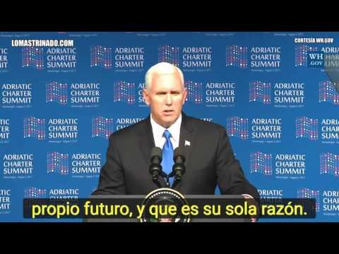 Vicepresidente de EEUU Pide condenar A Maduro y Libertad para Venezuela
