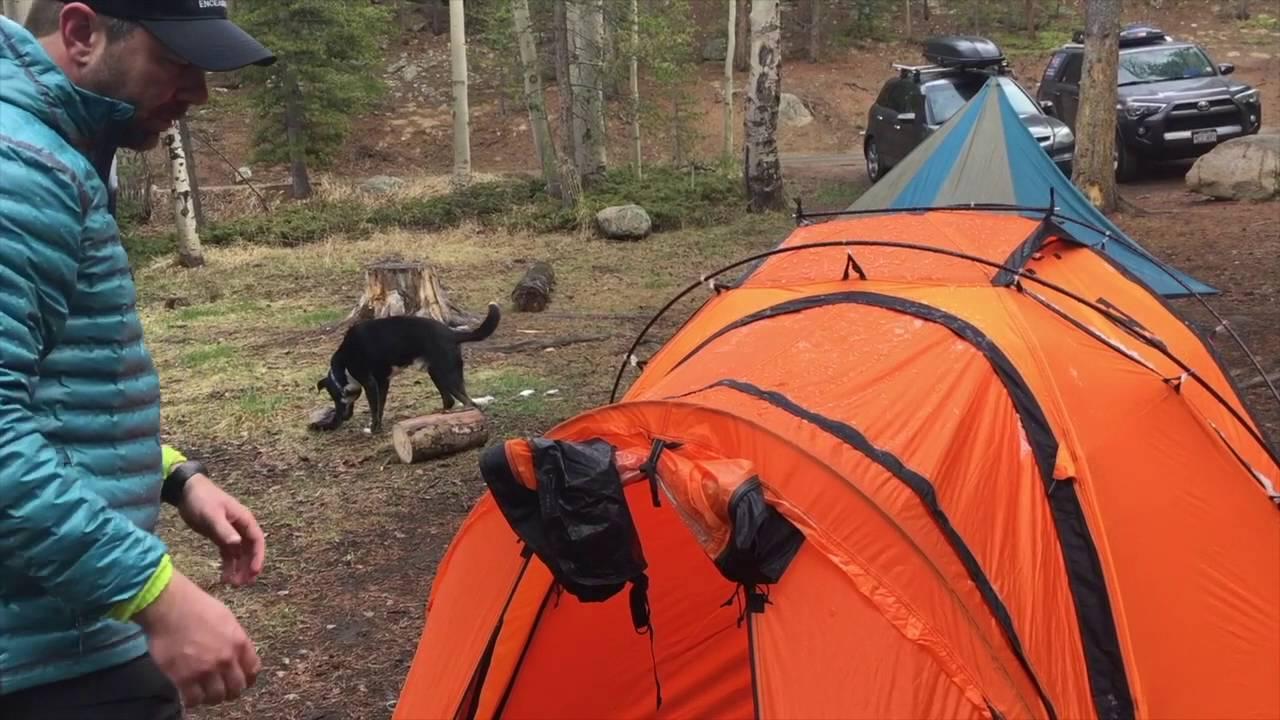 & Nemo Moki 3P 4 Season Tent - YouTube
