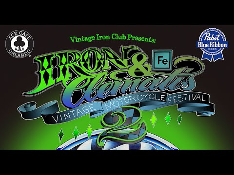 Iron & Clematis Vintage Motorcycle Festival 2015 West Palm Beach Florida