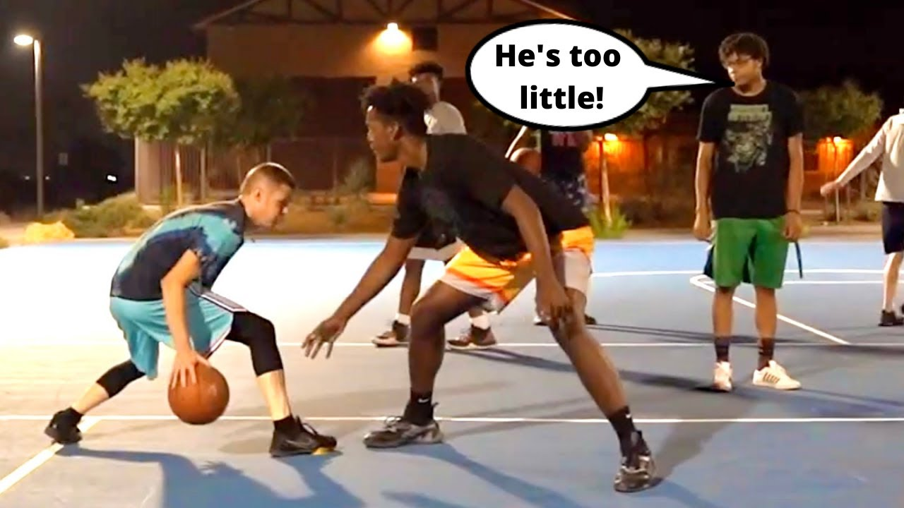 Professor gets EXPOSED vs D1/Pro Hoopers... Redeems with Fundamentals
