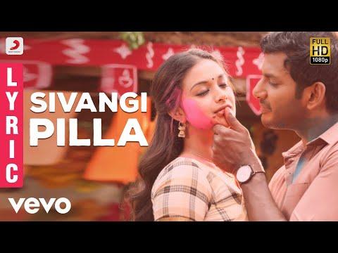 Pandem Kodi 2 - Sivangi Pilla Telugu Lyric   Vishal   Yuvanshankar Raja, N Lingusamy
