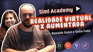 Gambar cover REALIDADES VIRTUAL, AUMENTADA e MISTA - Com Ronaldo Gazel e Sofia Fada #SIMIACADEMY #3