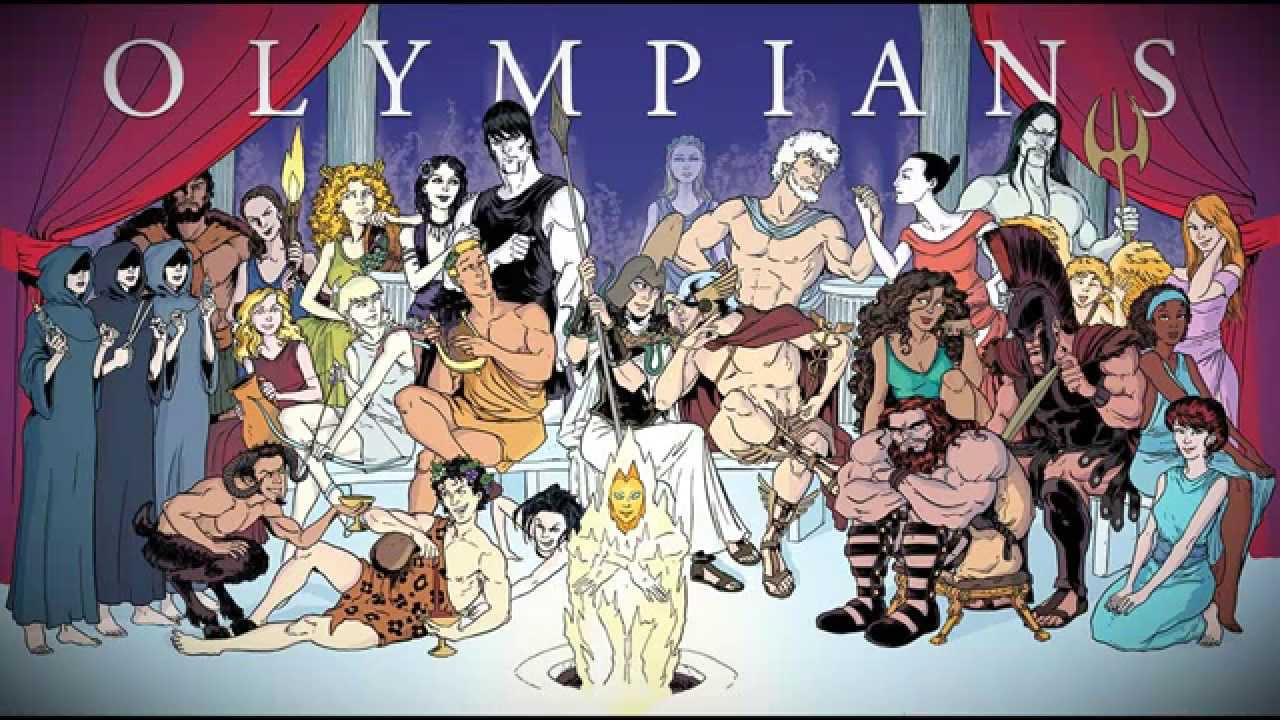 Love Graphic Novels? Want to learn more about Greek Gods?