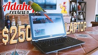 GREAT $250 Laptop (with an i5 & SSD!) - A Quick Review & How-To