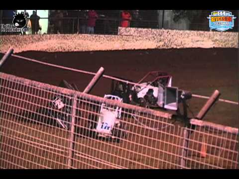 I-44 Riverside Speedway Non-Wing Extravaganza Friday 10-19-12 Highlights