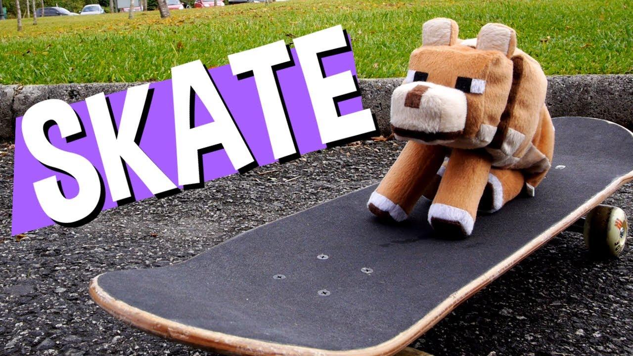 Alfredo Rides a Skateboard! (Alfredo anda de Skate)