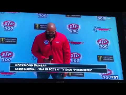 The command to start engines at martinsville by Rockmond Dunbar