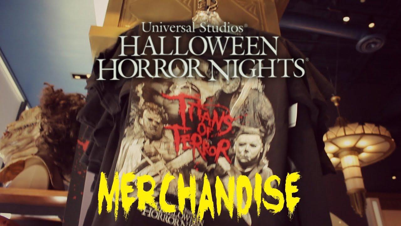 halloween horror nights 2016 merchandise