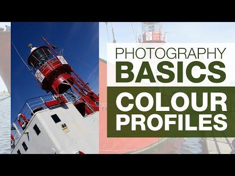 PHOTOGRAPHY BASICS | COLOR PROFILES