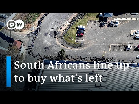 South Africa: More than 100 dead in worst unrest since apartheid   DW News