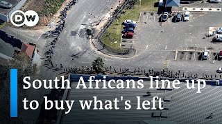 South Africa: More than 100 dead in worst unrest since apartheid