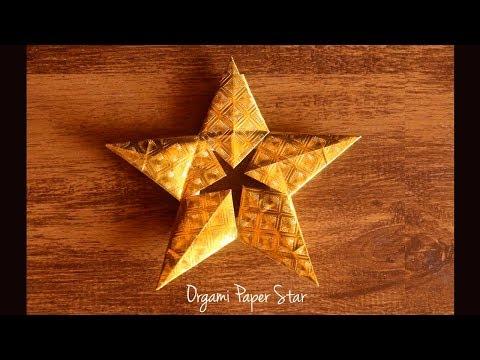 Origami Paper Star | Christmas Star | DIY Christmas Decorations