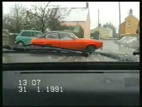 Messing About in Cars on a Snow Day - Jan 1991