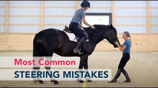 The Most Common Mistakes in Steering a Horse