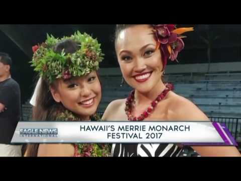 HAWAII'S MERRIE MONARCH FESTIVAL 2017 -  MAILE TADEO OF HAWAII BUREAU