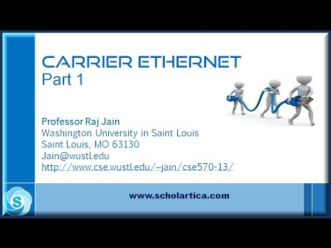 Carrier Ethernet: Part 1