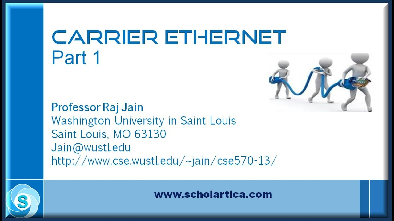 carrier ethernet  part 1