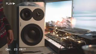 2017 -12-23 Dynaudio LYD 48 White Unboxing & Comparison