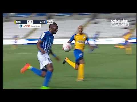 Apoel Nicosia 0-1 Anorthosis Famagusta(Highlights)