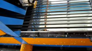 Aluminum Profile Polishing Machine-Running Operation At Dubai