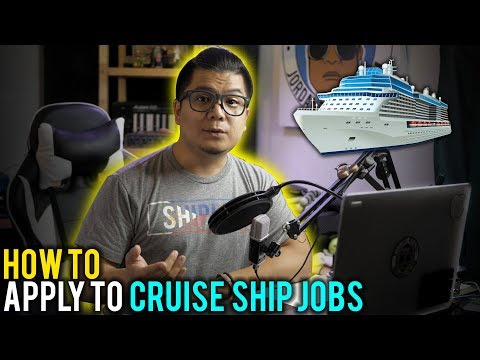 How To Apply To Cruise Ship Jobs | Shiplife TV