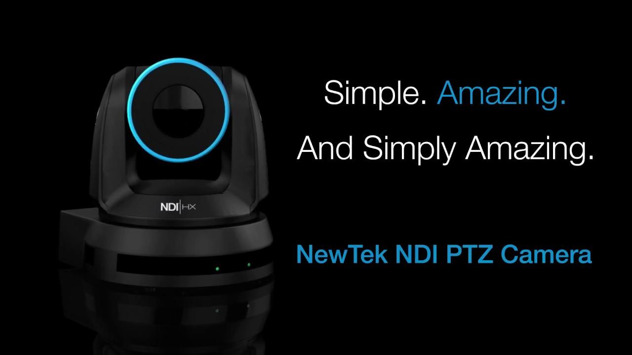 NewTek announce NDI enabled PTZ camera and wireless