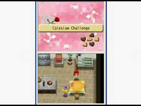 Harvest Moon: Island Of Happiness - Pierre Yellow Heart Cutscene #3